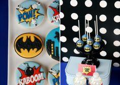 Superhero Birthday Party for Boys   Superhero Cake Pops   Amy Atlas Events