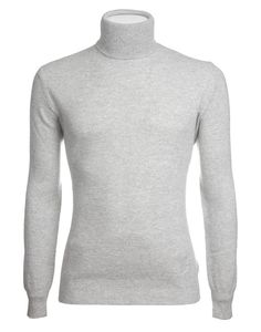 Light Gray Piquet Knit Two-Ply Loro Piana Cashmere Sweater Cashmere Sweater Men, Men Sweater, Knitwear, Turtle Neck, Gray, Knitting, Knits, Shopping, Collection
