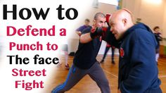 How to defend a punch to the face