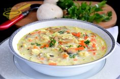 Soups And Stews, Cheeseburger Chowder, Soup Recipes, Food And Drink, Dinner, Smoothie, Food Ideas, Dining, Food Dinners