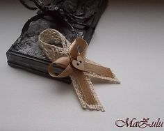 MaZulu / Vintage Svadobné pierka malé pre hostí