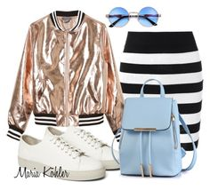Inspiration of the day: Gold metallic jacket by mariakohler-imageconsulting on Polyvore featuring Sans Souci