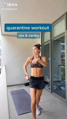 Workout Cardio, Full Body Gym Workout, Slim Waist Workout, Cardio Abs, Gym Workout Videos, Gym Workout For Beginners, Fitness Workout For Women, Sport Fitness, Fitness Workouts