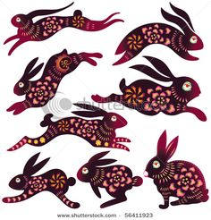 Chinese Zodiac - Rabbit. Get in depth info on Chinese Rabbit personality and traits at http://www.examiner.com/article/the-chinese-zodiac-the-chinese-horoscope-astrology-the-year-of-the-rabbit For a more lighthearted look at the Chinese Rabbit  go to http://www.examiner.com/article/a-funny-look-at-the-chinese-zodiac-sign-of-the-rabbit