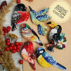 335 Likes, 56 Kommentare - Alexandr . Tambour Embroidery, Bead Embroidery Jewelry, Fabric Jewelry, Ribbon Embroidery, Beaded Jewelry, Beaded Brooch, Crochet Earrings, Native Beadwork, Beaded Animals