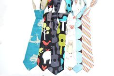 Groovy Guitars boys tie in lagoon ready to ship 6m2T by SassyStork, $15.00