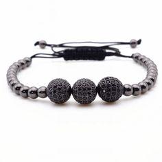 Men's Bead and Braid Bracelet  Just $11.99   #Bigfancywatch #iwantone https://bigfancywatch.com