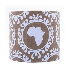Afri-chick lampshade by www.mooisenmeer.co.za
