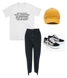 """""""Untitled #129"""" by katerinavra on Polyvore featuring Paul Frank, Miss Selfridge, Vans and Madewell"""