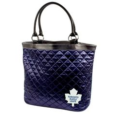 Toronto Maple Leafs NHL Quilted Tote (Navy)