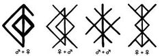 bind runes - love charms
