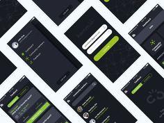 Community mobile app by Florentina Sarov