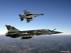 French Dassault Mirage F-1s. They celebrated both 40 years of service in Armée de l'Air & the retirement of type in 2014. F-1CRs all retiring to be replaced by Dassault Rafales in recon configuration.
