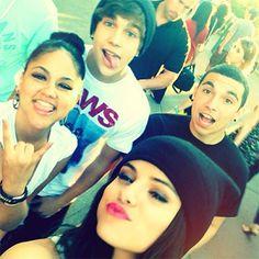 Kat DeLuna, Selena Gomez, And Austin Mahone Enjoy Themselves At Disneyland