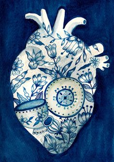 Things that fit inside a heart by Aitch, via Behance