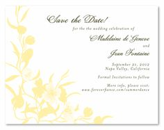Eco-Friendly Save the Date cards - Summer Dance,#uniquesavethedate,#plantablesavethedate,#seededpaper