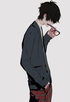 manga, anime, boy