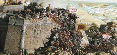 Austria, Vienna, Turkish Kara Mustafa troops lay siege to Vienna, diorama Louis Xiv, 3 Arts, Panzer, Vienna, Troops, Diorama, Austria, Poland, Holiday Decor