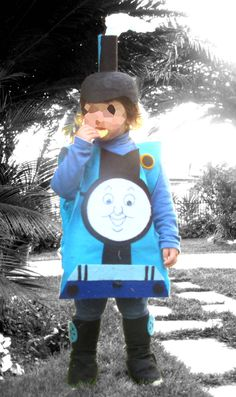 ba10cc3c785 Thomas the train inspired halloween costume for toddlers, thomas the tank  engine costume, thomas halloween costume. Κοστούμια CosplayDress Up