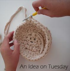A great activity to do with your children on a rainy weekend - here's how to teach kids to crochet!