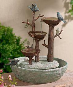 Another great find on #zulily! Bird Nest Fountain by Grasslands Road #zulilyfinds