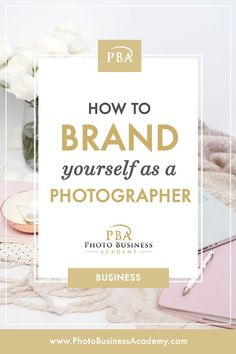 Are you wondering how to brand yourself as a photographer or your photography bu… - business marketing design