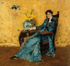 Portrait of Dora Wheeler William Merritt Chase 1882-83