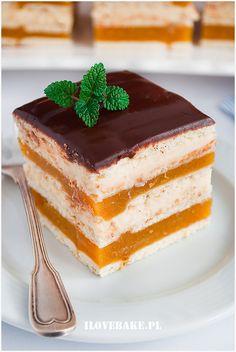 Ciasto delicja z jabłkami i serem - I Love Bake