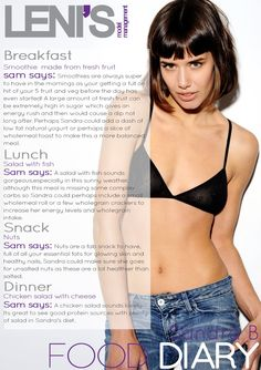 Leni's Model Management Model Food Diaries: SANDRA B.salad is just easiest, for lunch & dinner. you can always keep salads intersting. Dog Treat Recipes, Healthy Dog Treats, Dog Food Recipes, Funny Diet Quotes, Model Diet, Best Homemade Dog Food, Fruit And Veg, Models, Skinny Recipes