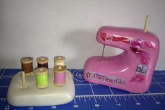 American Girl Sewing Machine American Girl Style Isabelle's Sewing Studio DIY Free Tutorial Camis Craft Corner - Dolls   Crafts   Ideas   Projects