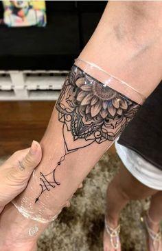 Tattoo Designs Beautiful tattoos via Mommy Tattoos, Forearm Tattoos, Body Art Tattoos, Girl Tattoos, Sleeve Tattoos, Tattoos For Women, Tatoos, Henna Arm Tattoo, Forearm Mandala Tattoo