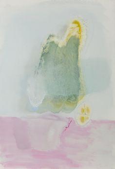 Kishikaa - melissa mladin-lowgren Pink Pot Blue Cacti oil and mixed media on linen