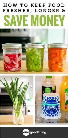 Tossing out food that has gone bad is so frustrating, because that's money down the drain! Luckily, food waste is avoidable if you know a few easy tricks! Check out this list of 36 brilliant ways to keep your food fresh for longer, and save money while you're at it.