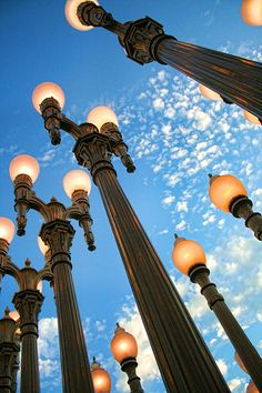 """Searching for cool things to do in Los Angeles? Check out the LACMA: """"Very interactive and more entertaining than your average museum! Hotel California, California Love, Southern California, Lacma Lights, Los Angeles Museum, Lantern Post, City Of Angels, Street Lamp, Photo Location"""