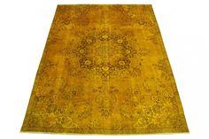 Vintage Teppich Gold in 300x220cm