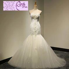 Flooring Sale, 2015 Wedding Dresses, Lace Applique, Mermaid Wedding, Appliques, Beautiful Dresses, Free Shipping, Weddings, Hot