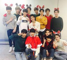 Kun, Hansol, Jeno, Jaehyun, Johnny, Ten, Yuta, Taeil, Jaemin, Donghyuk, Jisung, Taeyong, Mark & Doyoung. Y so serious Taeyong