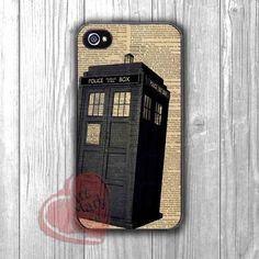 Tardis dr who vintage paper art - zzd for iPhone 4/4S/5/5S/5C/6/6+s,Samsung S3/S4/S5/S6 Regular/S6 Edge,Samsung Note 3/4