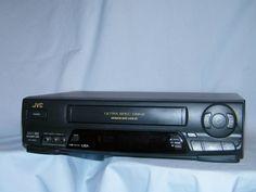 JVC HR-A62U 4Head Hi-Fi VHS VCR Video Cassette Recorder-Unit only