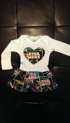Star Wars Onesie Kleid von BonitaCouture auf Etsy