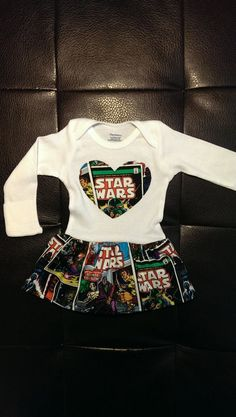 Star Wars Onesie Dress on Etsy, $25.00