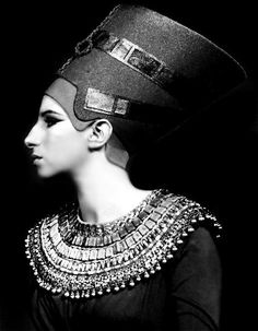 Barbra Streisand as Nefertiti - One gorgeous woman channeling another