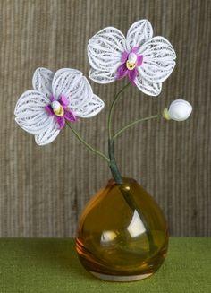 Quilled Orchid :: Alli Bartkowski