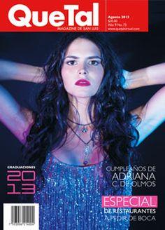portada agosto  2013 www.quetalvirtual.com