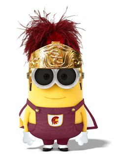 The newest recruit in the TMB (Trojan Minion Band).
