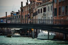 Another bridge, another man.Venice, Italy. Shoot by Monike Furtado