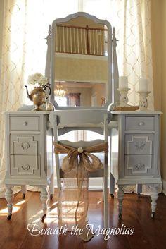 Beneath the Magnolias/Paris Grey vanity