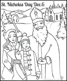 FREE Printable: St. Nicholas Day!