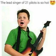 CRYINGHGGGGG also it's twenty one pilots