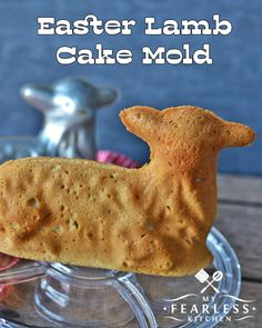 Easter Lamb Cake Mold from My Fearless Kitchen. Have you ever wanted to bake a cake with that cute lamb cake mold for Easter? Check out these tips and tricks for getting that cake to come out perfect. Plus, get ideas for decorating, too!